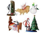 Jun Planning Nightmare Before Christmas Series 1 Trading Figure 4pc Set