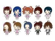The Idol Master Rubber Strap Collection the Idolm @ Ster Stage1 (Character Strap) Box [ Japan Import ]