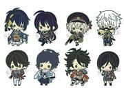 Rubber strap collection swords dance first force anime strap BOX