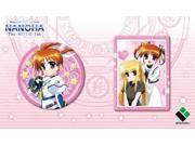 Magical Girl Lyrical Nanoha the Movie 1st Pin Badge Set of 2 [Japan Imports] 9SIA2SN3GS5377