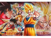 "[300 pieces] DRAGON BALL Z """"Evoluting Warriors - Son Goku"""" Jigsaw Puzzle (26 x 38 cm) Japan"" 9SIA2SN3GS8425"
