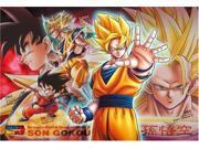 "[300 pieces] DRAGON BALL Z """"Evoluting Warriors - Son Goku"""" Jigsaw Puzzle (26 x 38 cm) Japan"" 9SIA2SN3GS8425"