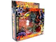 Bandai Godzilla Vs. Gokoku Mini Figures 3 Seijyu Set (Set of 4 Monsters and An Egg/Coccoon)