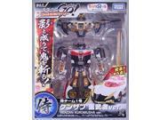 Transformers Go! Limited edition Samurai team No. 1 Kenzan black warrior ver. [Toys R Us Limited Edition] (japan import)
