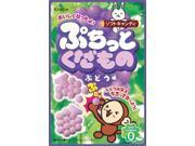 ON BOX 10 pieces fruit grape flavored Puchi~tsu (Candy) (japan import)