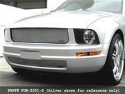 2005-2009 FORD MUSTANG GRILLE UPPER and LOWER (V6 Model) will not fit pony light grille package (Black Finish)