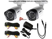 Lorex 720P 1MP up to 130Ft NV IP66 2PK Bullet Camera