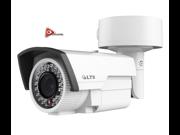 LTS Eco Platinum HD TVI Varifocal Bullet Camera 2.1MP AC 24V DC 12V White Color