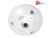 LTS Platinum 6MP Fisheye IP Camera: Indoor, 360° View Angle, IR up to 33ft, 1.27mm Fixed Lens, Built-In Card Slot, 3D DNR, DWDR - CMIP7562F