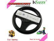 New Black Steering Wheel for Wii Mario Kart Racing Game