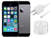 "Apple iPhone 5S 4"" Retina A1533 32GB GSM UNLOCKED Cell Phone - Space Gray"