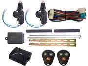 Megatronix - CP300DK2 - Two Door Remote Control Door Lock Kit With Keyless Entry