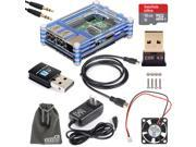 EEEKit Professional Kit Raspberry Pi 2/B+ Accessories,Case+Cable+Charger+USB Hub