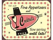 Fine Appetizers Vintage Metal Art Bar Retro Tin Sign 9SIA2UB17N1403