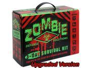 Zombie Defense 3 Day Survival Bug Out Kit 5 Yr Walking Dead Disaster Earthquake
