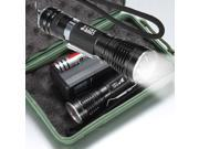 1600Lm UltraFire CREE XML T6 LED Flashlight Torch ZOOMABLE Light Lamp 18650 Battery+Charger