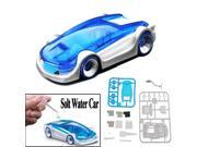 Funny Educational DIY Green Energy Salt Water Fuel Cell Power Car Toys Gift for Kid Child Children