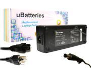 UBatteries AC Adapter Charger Dell Latitude E7440 M582J 0M582J OM582J M585J 0M585J OM585J MK911 0MK911 OMK911 330-3614 330-3615 330-4279 - 130W, 19.5V