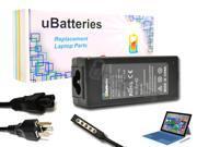 UBatteries AC Adapter Charger Microsoft Surface Pro 2 5HX-00001 - 45W, 12V
