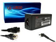 AC Adapter Charger Compaq Mini CQ10-520SG CQ10-521LA CQ10-522SZ CQ10-525DX CQ10-550CA CQ10-550ER CQ10-550SP (Loreso Replacement Part) - 45W, 19V