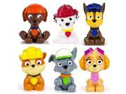 Paw Patrol Mini Figures Set of Six, Rocky, Zuma, Skye, Rubble, Marshall, Chase 9SIA2W05VR5777