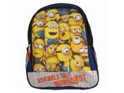 Despicable Me2 Assemble the Minions 16 Inch Backpack