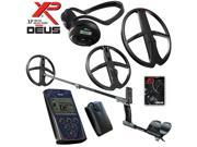 XP Deus Metal Detector Deep Gold & Relic Package, Backphones, Remote and 2 Coils