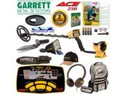 Garrett ACE 250 Metal Detector Adventure Pack Fall Special with Free Accessories