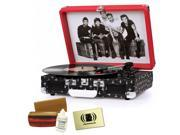 Crosley CR8005A-OD One Direction Cruiser Briefcase-Style Turntable Cleaner Kit Bundle with Polishing Cloth and Cleaning Kit