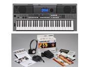 Yamaha PSR-E443 KIT | 61-Key Touch Response Keyboard with Surivival Kit D2