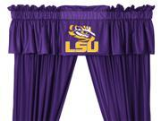 Louisiana State Tigers College 5pc Valance-Curtains Set