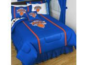 NBA New York Knicks Sidelines Full Comforter Sheets Bedding 9SIA2X11AU0642