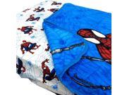 Spider-Man Webslinger Toddler Bed Fitted Sheet Blanket Set 9SIA2X11959026