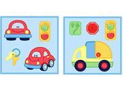 Little Tikes Auto Self Stick 4pc Accent Wall Art Stick-Ups 9SIA2X119N3393
