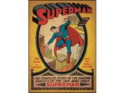 Superman First Issue Comic Book Cover Wall Accent Sticker 9SIA17P3Z19337
