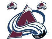 NHL Colorado Avalanche Large Accent Wall Sticker Decal Set 9SIA2X11AF4399