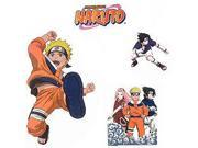 Naruto Anime Self-Stick Wall Accent Stickers Set