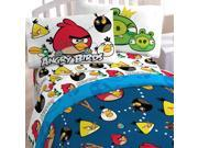 Jay Franco and Sons Angry Birds Stop Madness 3pc Twin-Single Bed Sheet Set