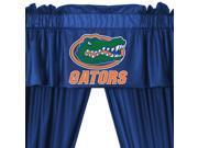 NCAA Florida Gators College 5pc Valance-Curtains Set