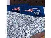 NFL New England Patriots Sheet Set Anthem Sheets Full Bed 9SIA2X11B83860