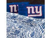 NFL New York Giants Sheet Set Anthem Full Bed 9SIA2X11BG0179