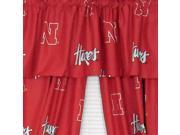 NCAA Nebraska Huskers Collegiate Long Drape Valance Set