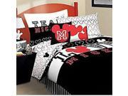 Disney Mickey Mouse Love Full-Double Bed Sheet Set