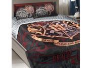 Harry Potter Twin-Full Comforter Set House Motto Bedding