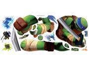 Teenage Mutant Ninja Turtles Leo Peel & Stick Giant Wall Decals 9SIV1976Y37779