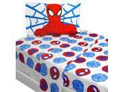 Marvel Bold Spiderman Twin Sheet Set Superhero Bedding 9SIA17P49P0774