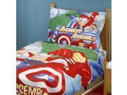"""Marvel Avengers """"""""Heroes Assemble!"""""""" 4 Piece Toddler Bedding Set"""" 9SIA2X15VU2872"""