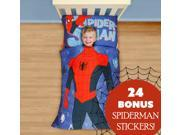 Spiderman Toddler Bedding Sticker Set Superhero Suit Bed 9SIA2X15VU3752