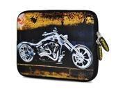 Amzer 10.5-Inch Designer Neoprene Sleeve Case Pouch for Tablet, eBook, Netbook - Ghost Rider
