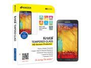 Amzer Tempered Glass HD Screen Protector Cell Phone - Cases & Covers
